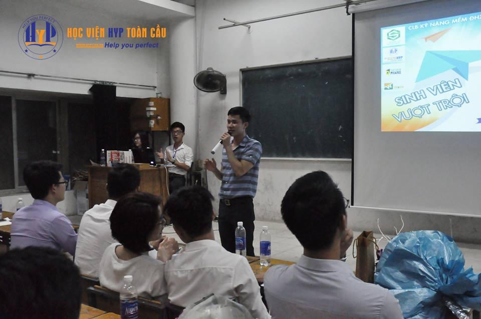 Ths Nguyễn Quốc Tuấn - Giám đốc Kinh doanh Học viện HYP đã chia sẻ thông tin về điều kiện nhận học bổng du học Đài Loan