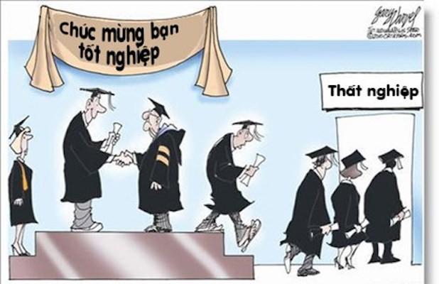 Hầu hết sinh viên sắp ra trường đều phải đối mặt với nỗi lo thất nghiệp