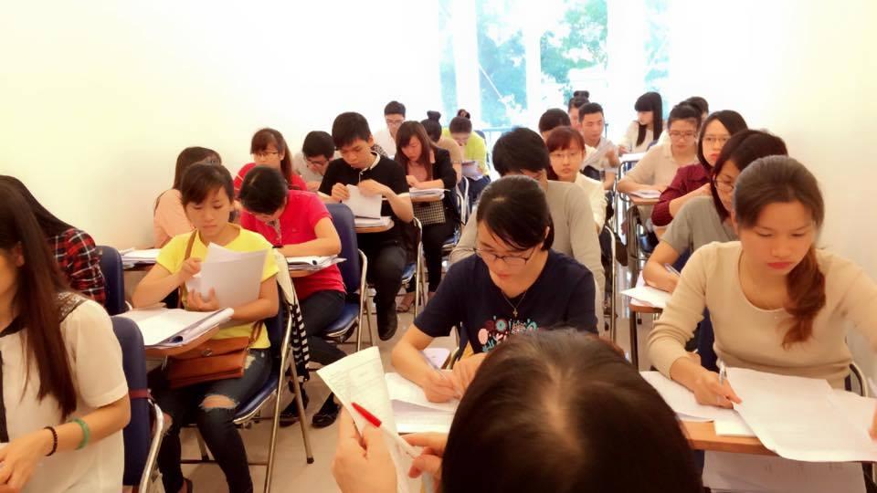 Thí sinh có thể đến trực tiếp Học viện HYP tại 30 Bạch Mai để tham gia Test